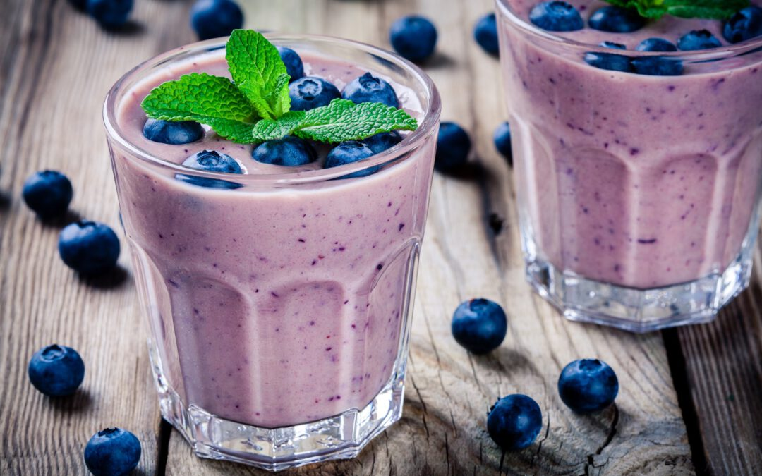 Recepty: Detox s borůvkovým smoothie